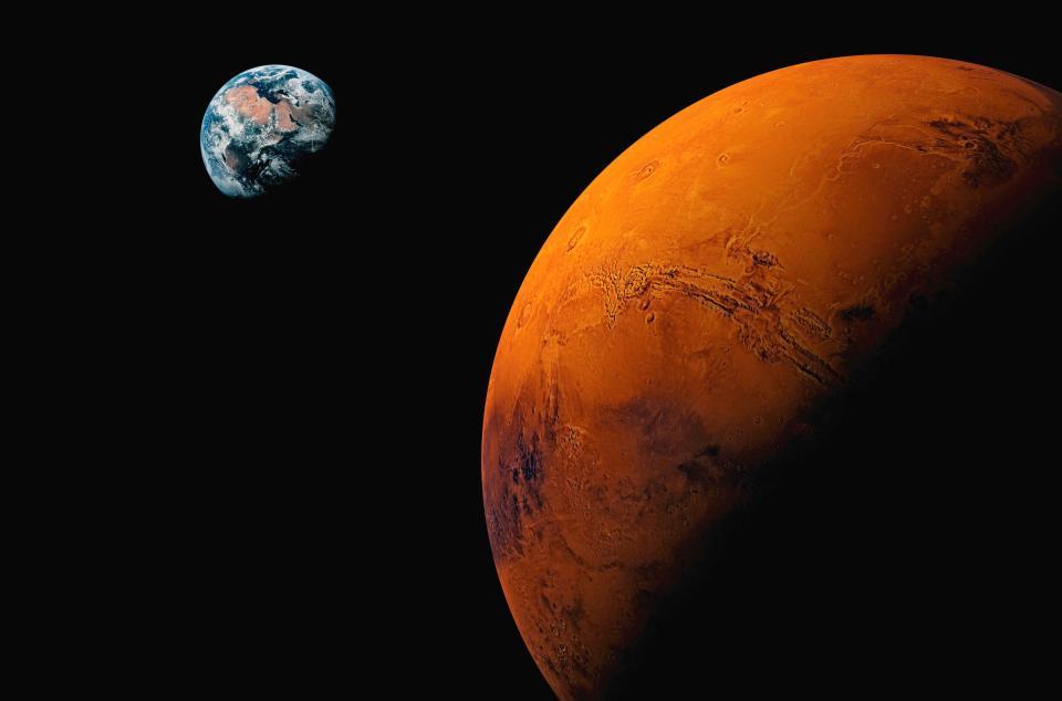 Arrivare su Marte con il Falcon Heavy di Musk