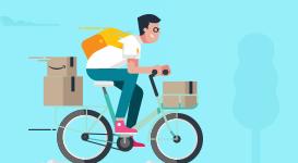 Per ricevere un pacco Amazon
